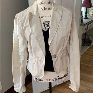 Cream Colored Ralph Lauren Jacket